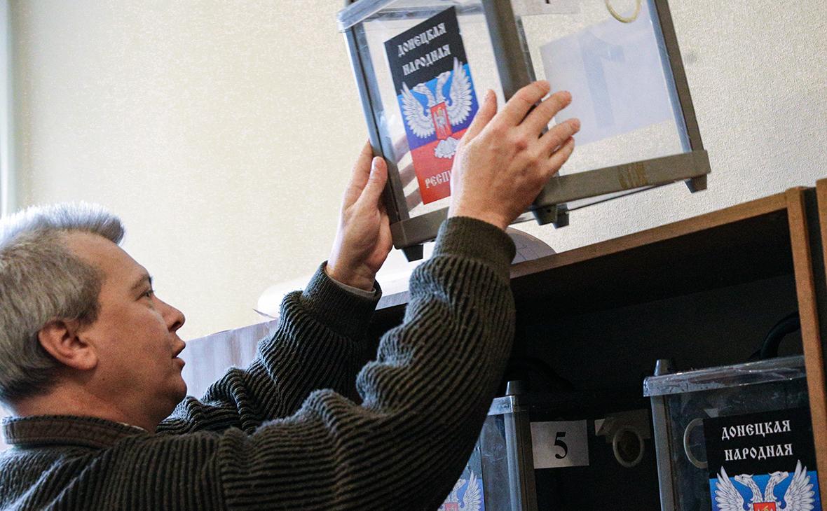 Выборы глав ДНР и ЛНР отменили за три месяца до голосования
