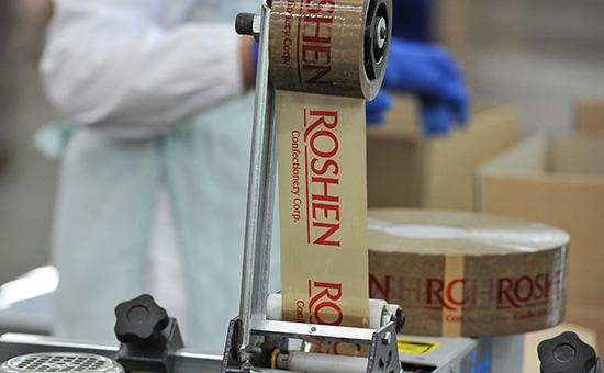 Упаковочный цех кондитерской фабрики Roshen в Липецке