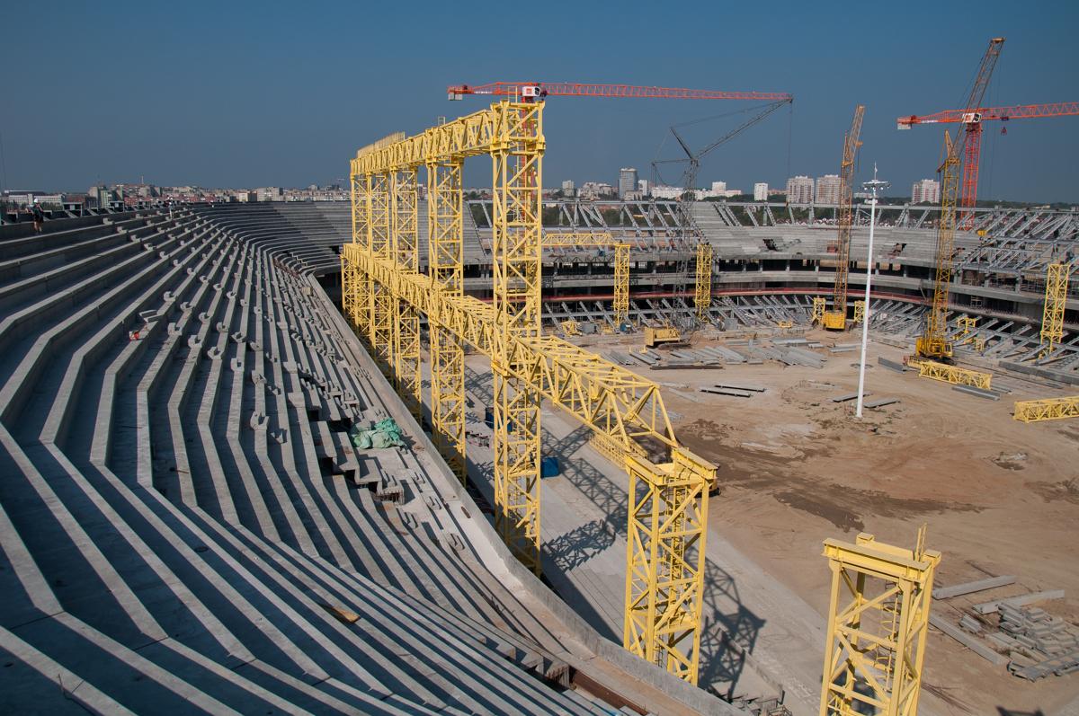 фотографию зазика стадион калининград фото строительства профессионалы оазис подберут
