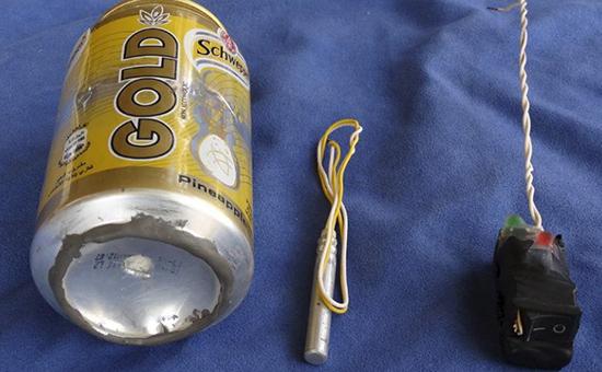 Фотография устройства, которая была продемонстрирована «Исламским государством» (запрещено в России)