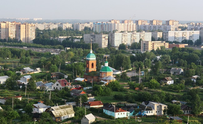 Панорама Рязани