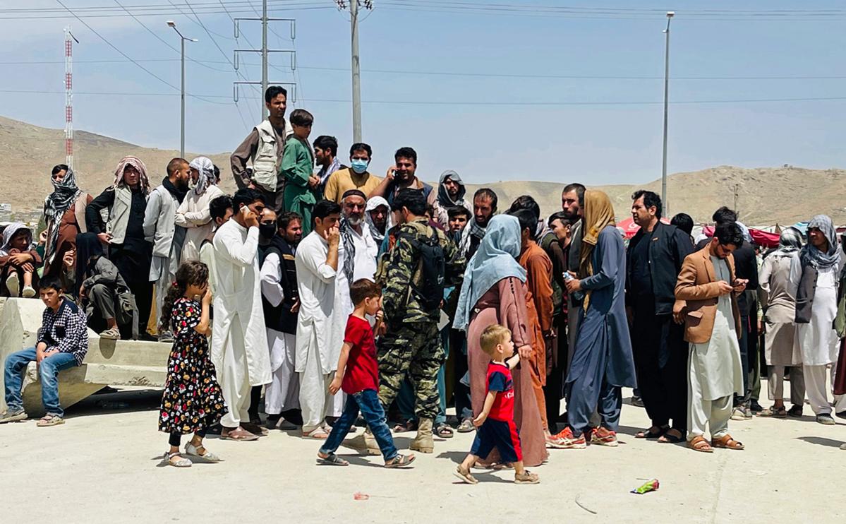 """Страны ЕС отказались принять афганских беженцев""""/>"""
