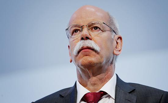 Председатель правления немецкого автомобилестроительного концерна Daimler AG Дитер Цетше