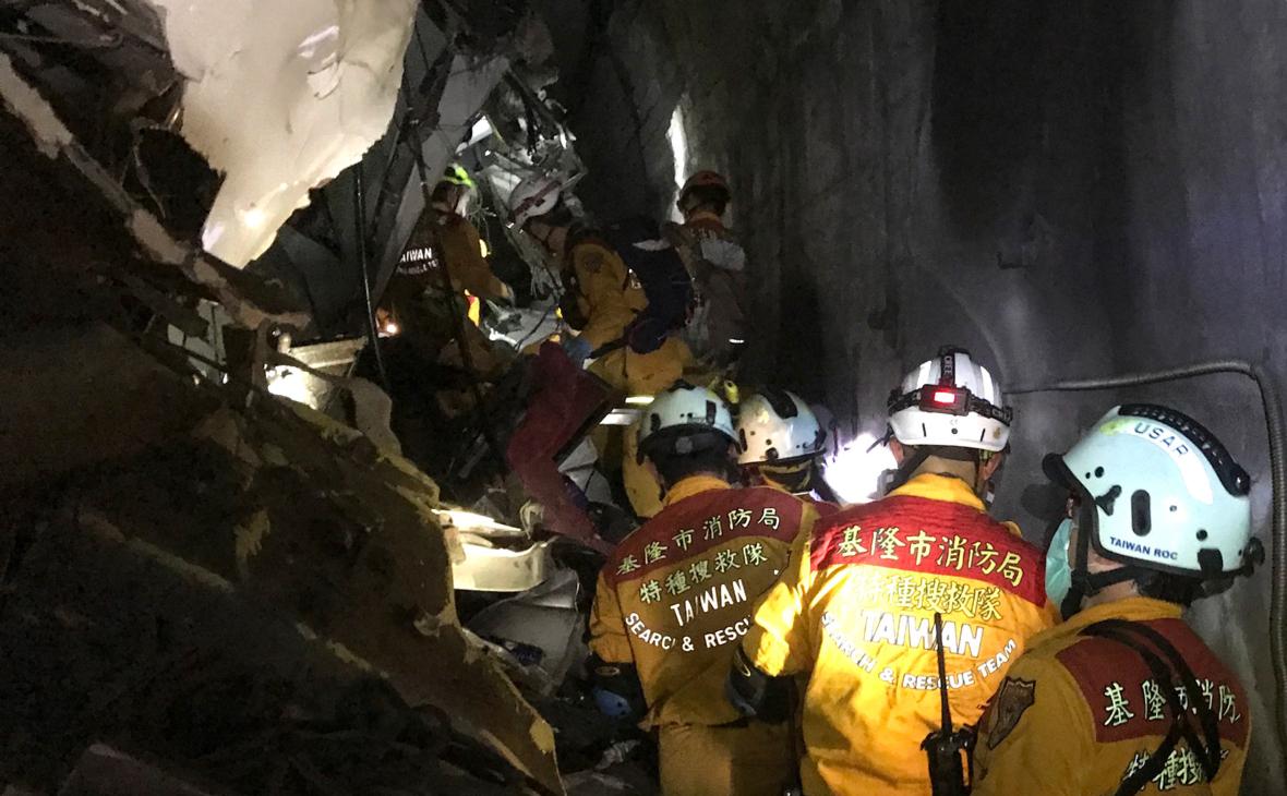 Фото:Keelung City Fire Department / Keystone Press Agency / Global Look Press