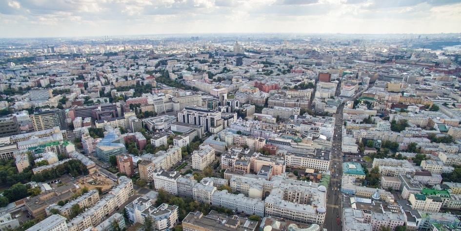 Вид на Красносельский район Москвы