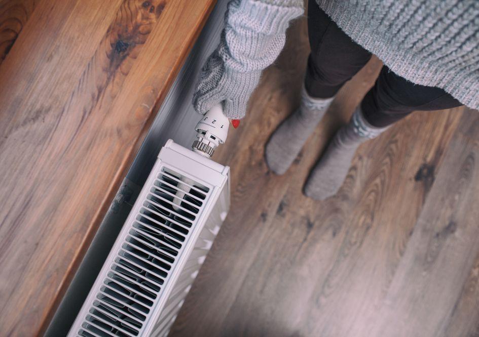 Измерять температуру лучше всего в центре комнаты