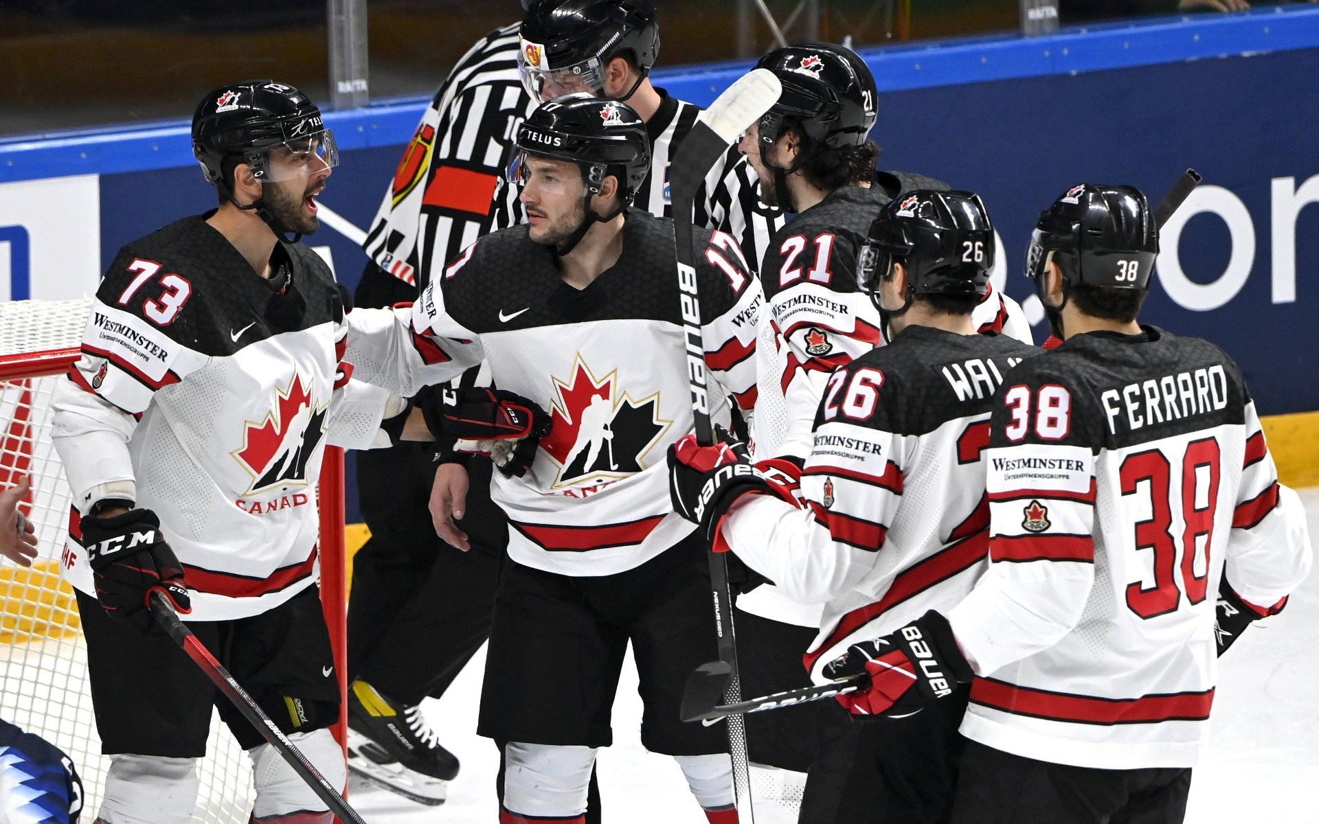 Фото: Игроки сборной Канады (Global Look Press)