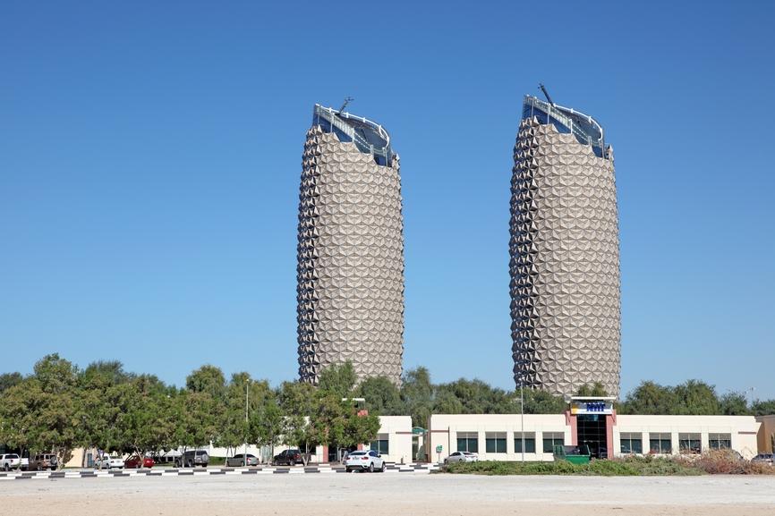 Башни Аль Бахра в Абу-Даби