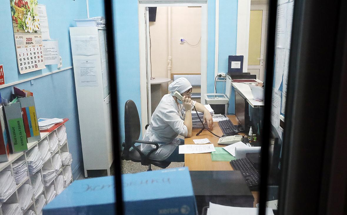 Тюменскаябольница, куда с подозрением на коронавирус была доставлена китайская студентка