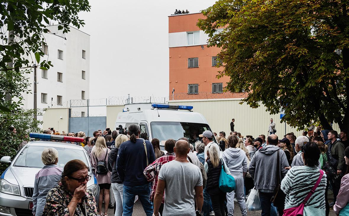 Изолятор временного содержания в Минске, Белоруссия