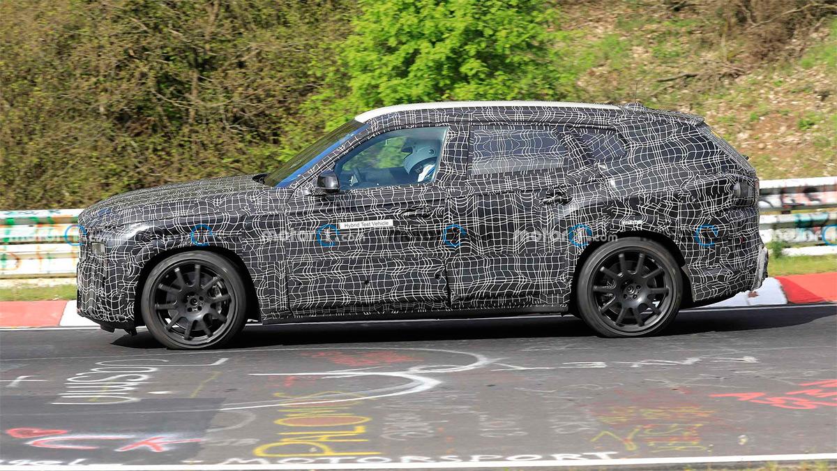 Тестовый прототип BMW X8 M
