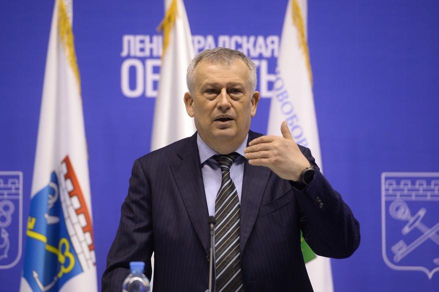 Губернатор Ленобласти Александр Дрозденко