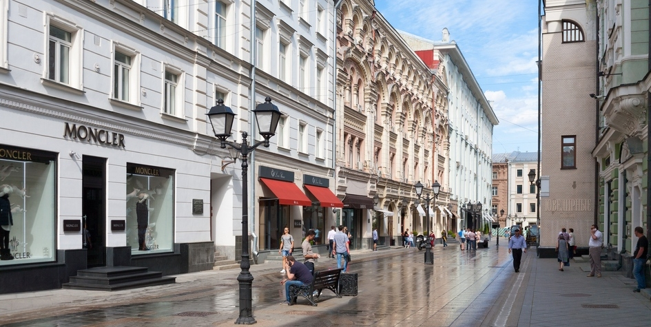 Вид на Столешников переулок