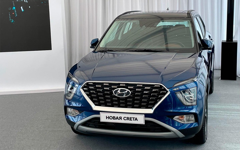 Hyundai презентовал кроссовер Creta второго поколения для российсокго рынка