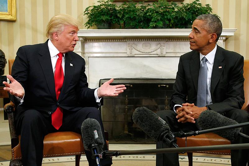 Отозвать ряд ключевых законов, принятых Обамой  26 декабря соратник Трампа, бывший спикер конгресса США Ньют Гингрич заявил винтервью, чтоизбранный президент США планирует отменить до70% законов, принятых Обамой. «Я думаю, чтовпервые дни послесвоего назначения он отменит 60 или70% указов, которые ему достанутся внаследство отБарака Обамы»,— сказал Гингрич. В этот список может попасть реформа здравоохранения, несколько международных соглашений, атакже меры, касающиеся зеленой энергетики.