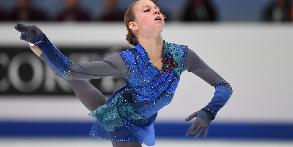 Российская фигуристка Александра Трусова