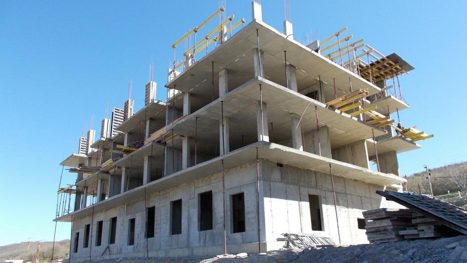 Остекление ифасадные работы начнутся вконце июня— «Анаполис» строится очень быстро