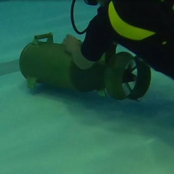 Подводный буксировщик«Спрут»