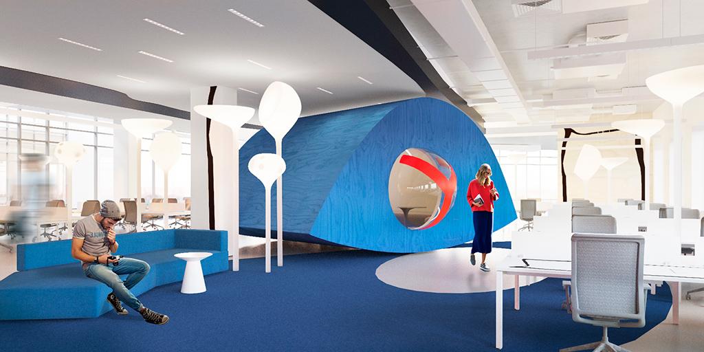 Для конфиденциальных переговоров илиразговоров, требующих тишины, вофисе есть несколько телефонных будок
