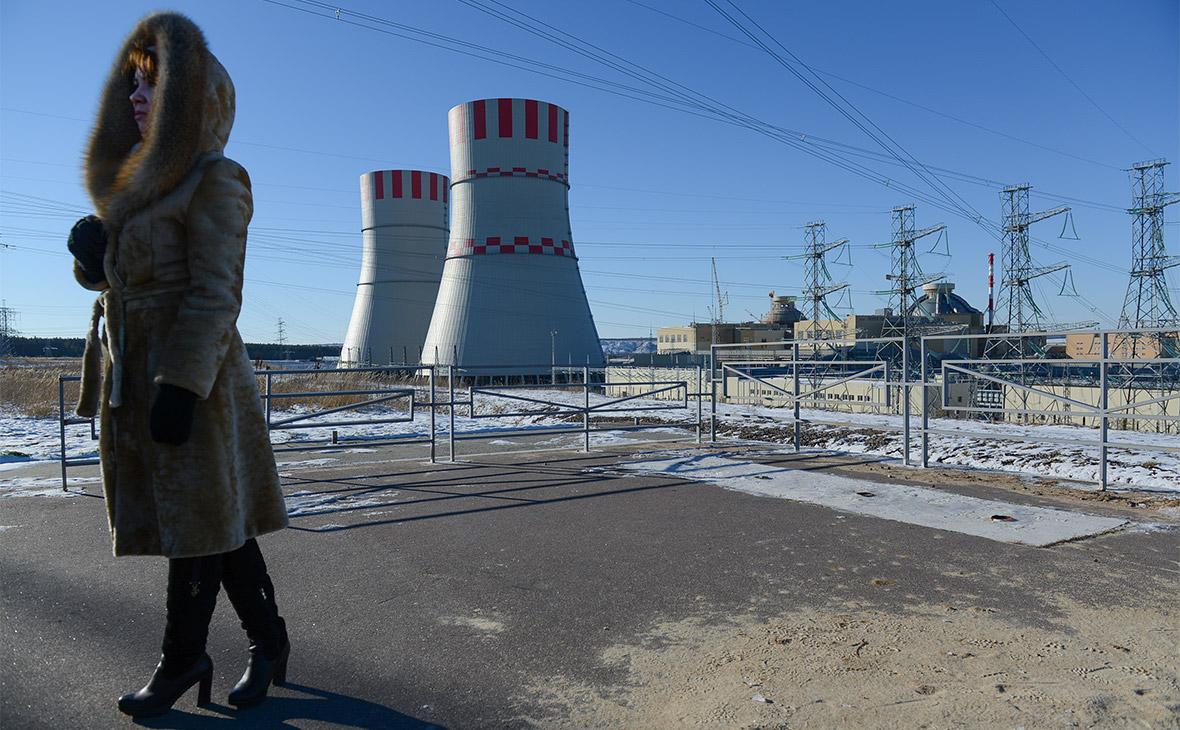 Вид на энергоблоки Нововоронежской АЭС