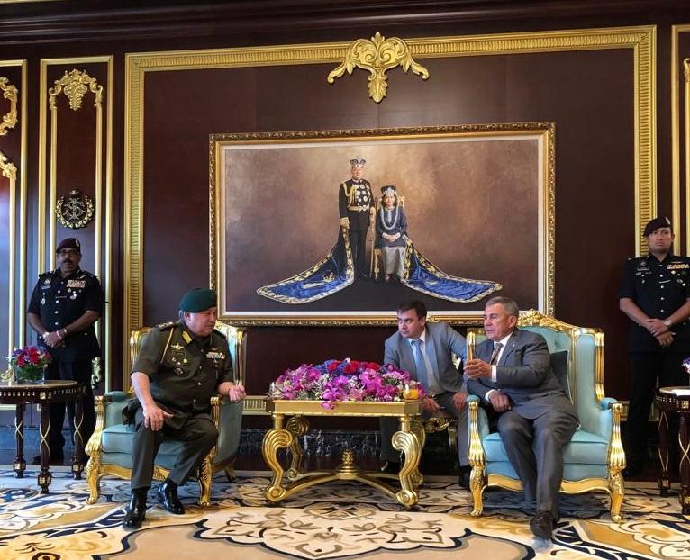 Минниханов пригласил бизнес из штата Джохор на KazanSummit-2019