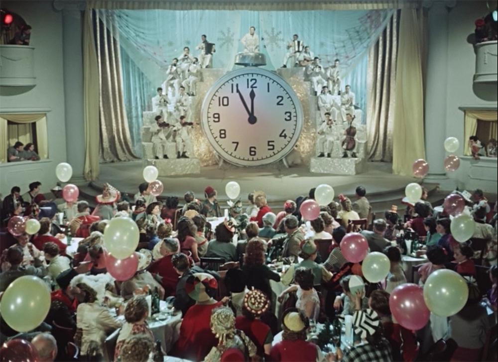 Кадр из кинофильма «Карнавальная ночь». Реж. Эльдар Рязанов. 1956 год