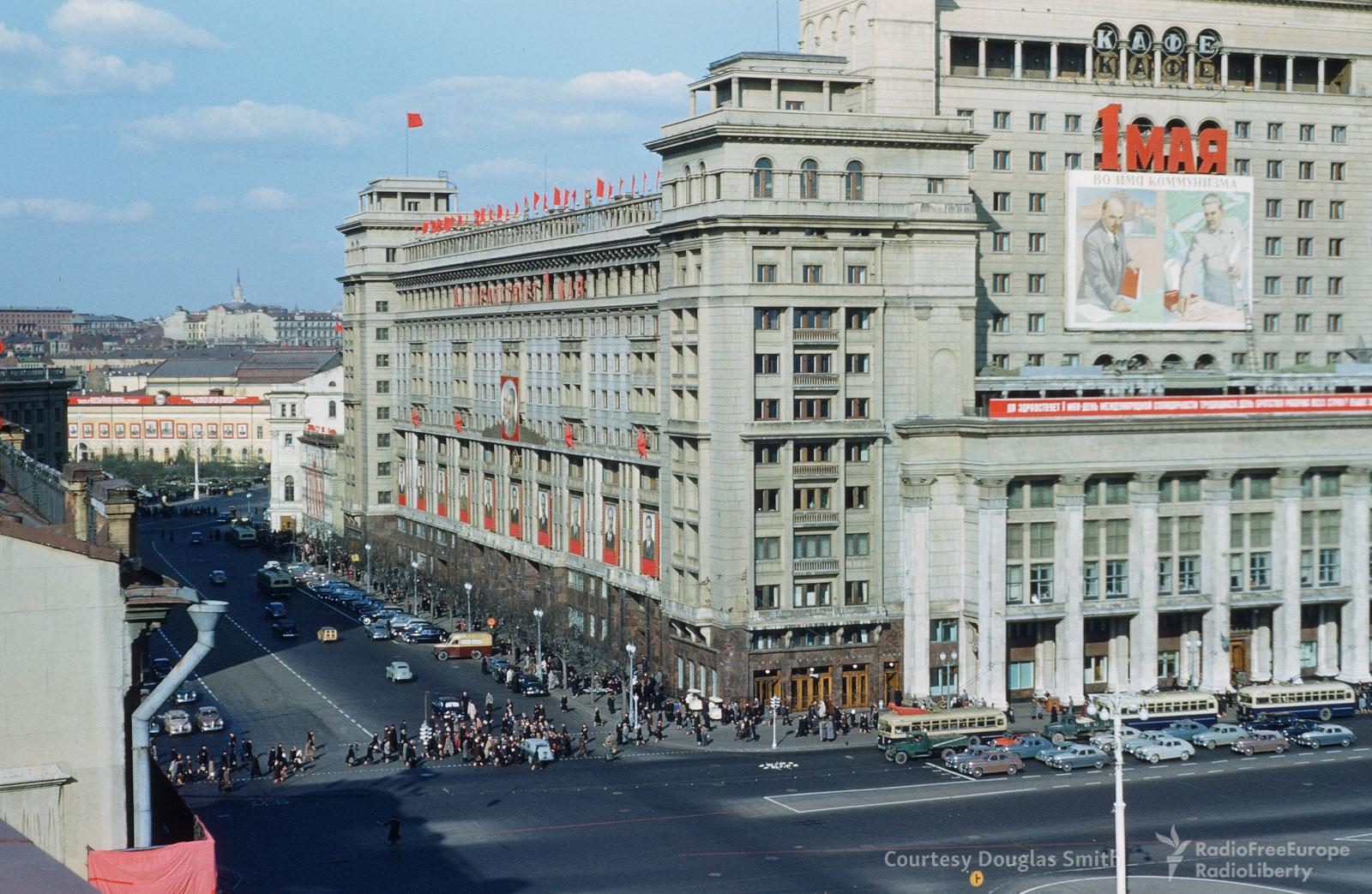 Гостиница «Москва» наМанежной площади