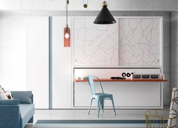 При подготовке комнаты для ребенка дизайнеры рекомендуют обратить внимание на мебель-трансформер