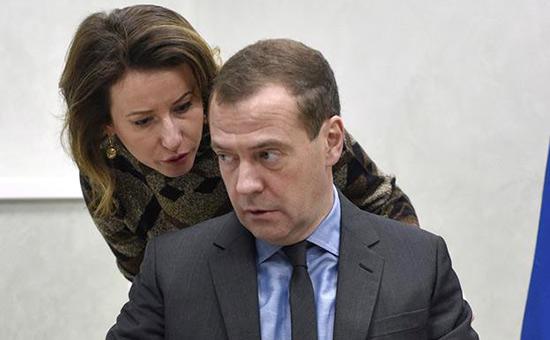 Дмитрий Медведеви Наталья Тимакова