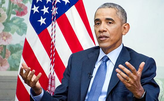 Действующий президент США Барак Обама