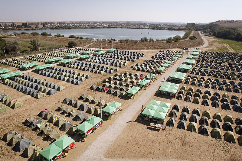 Палаточный городок Международного молодежного форума «Таврида»