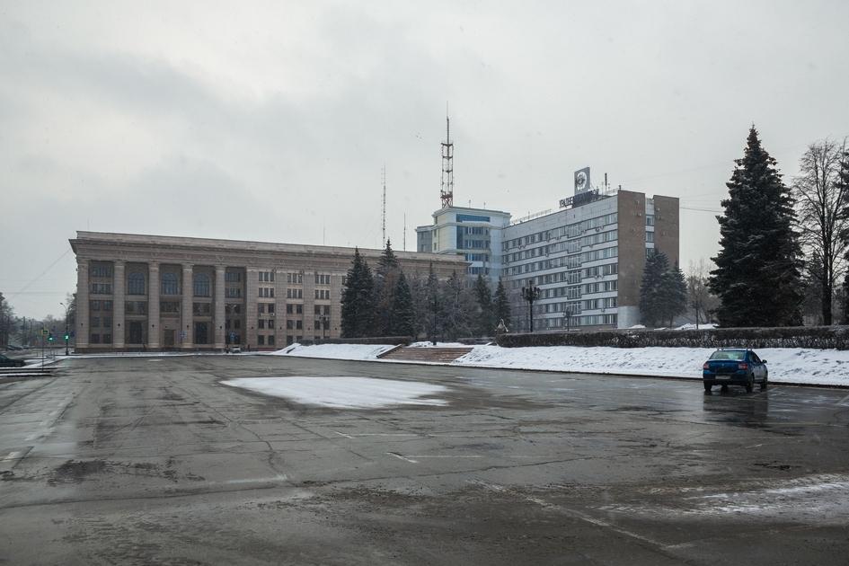Челябинск. Участок площади Революции
