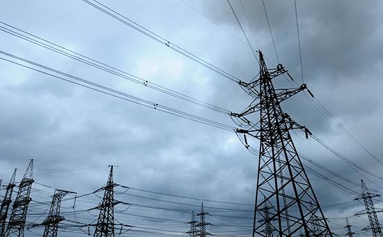 Линия электропередачи в Винницкой области, Украина