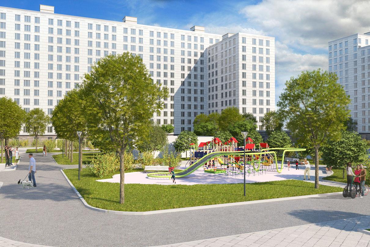 Территория: 58,8 га, расположена между улицами Гарибальди, Профсоюзной, Наметкина и Архитектора Власова Снос: 17 домов Построят: 14 домов площадью 244,11 тыс. кв. м Инфраструктура: школа и два детсада