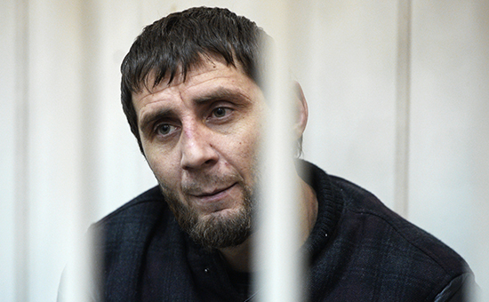 Подозреваемый вубийстве Бориса Немцова Заур Дадаев вБасманном суде