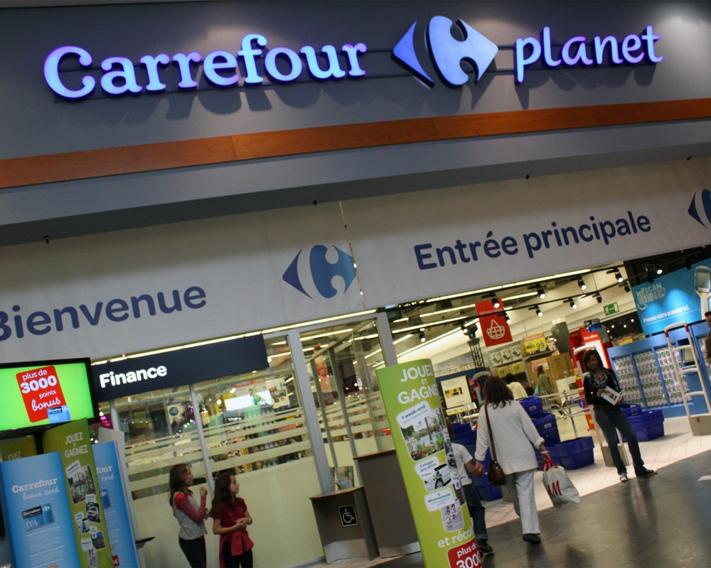 carrefour is one of the largest Carrefour sa (french pronunciation: ) is a french multinational retailer headquartered in boulogne billancourt, france, in the hauts-de-seine department near paris it is one of the largest hypermarket chains in the world with 12,300 markets (including 1,528 hypermarkets) at the end of 2016.