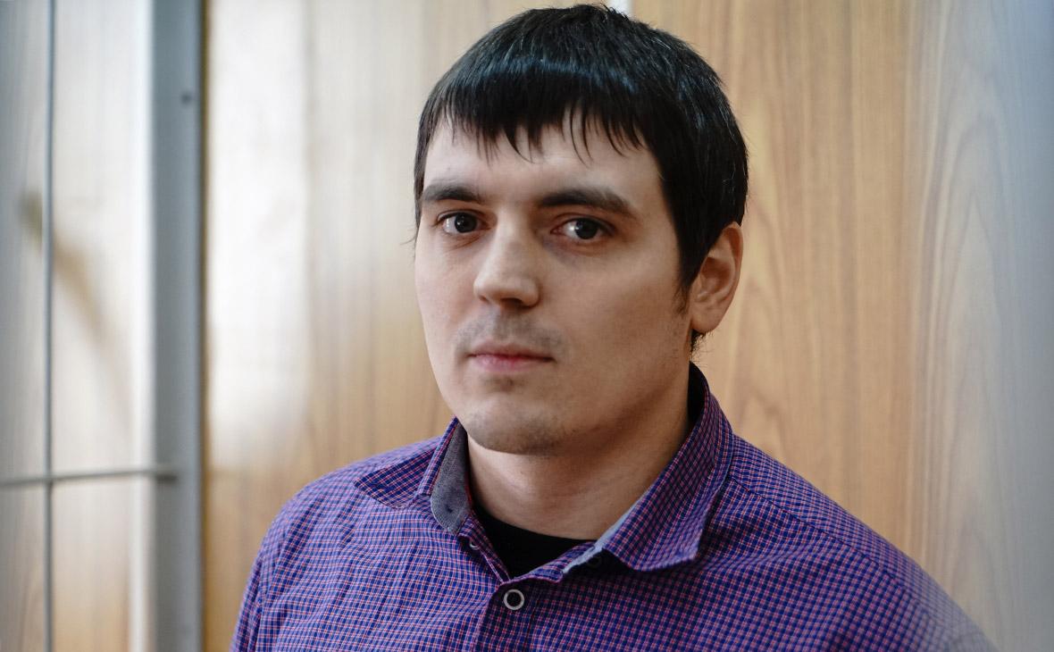 Спецкор РБК Александр Соколов на заседании Хамовнического суда