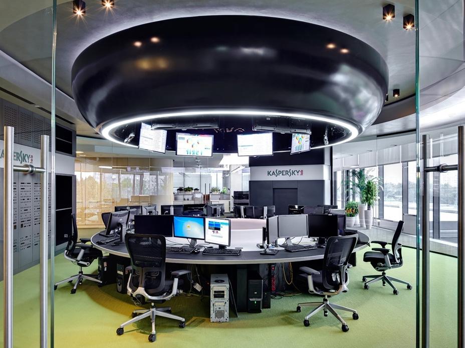 Офис компании «Лаборатория Касперского» в Москве