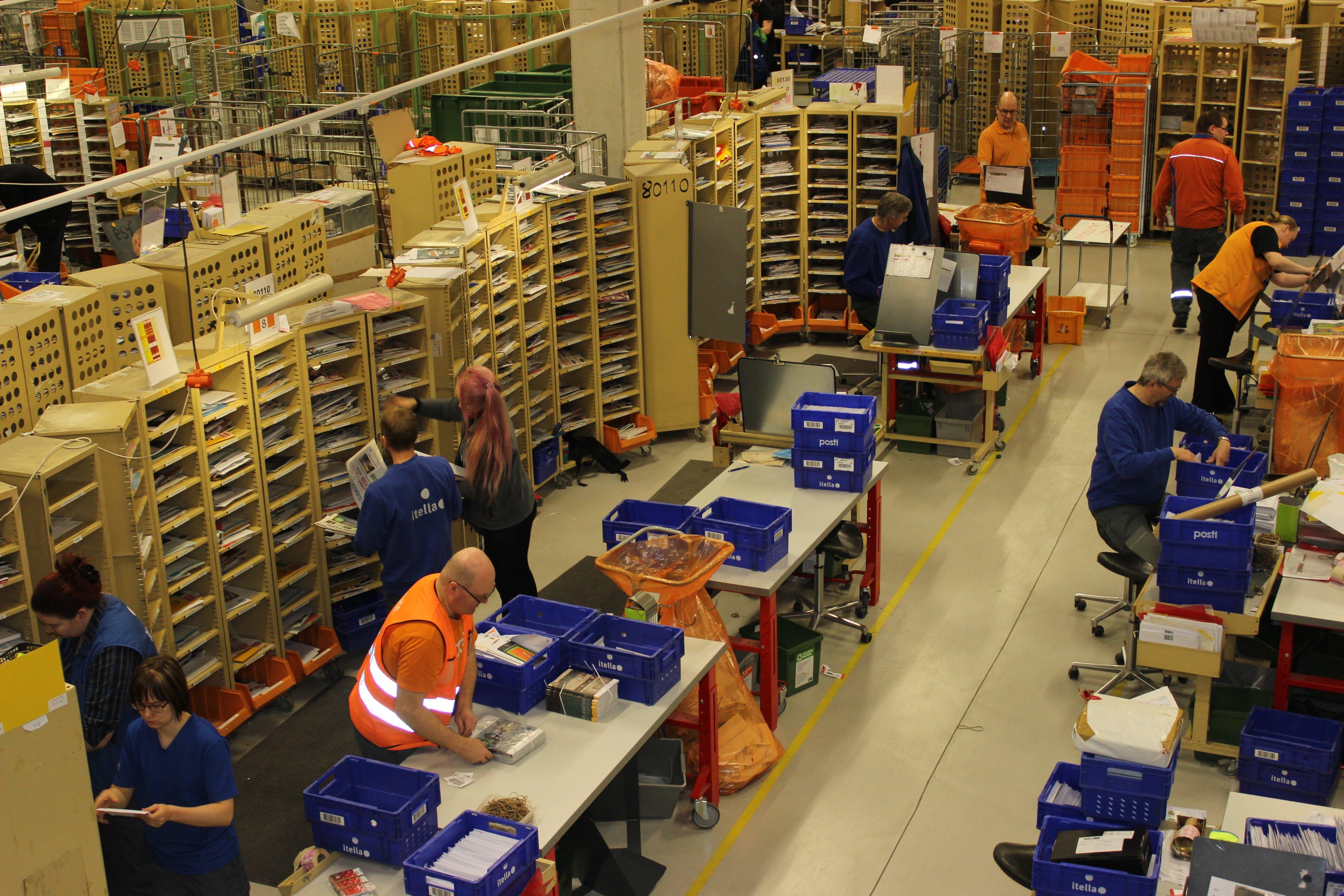 Фото: Twitter Профсоюза работников почты и логистической сферы Финляндии (PAU)