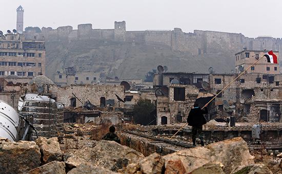 Виды сирийского города Алеппо