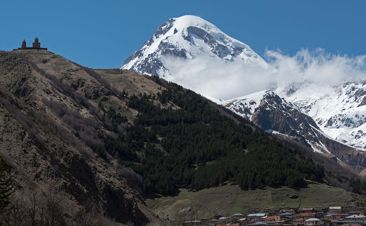 Гора Казбек