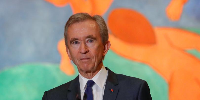 Президент группы компаний Louis Vuitton Moët Hennessy (LVMH), французский бизнесменБернарАрно