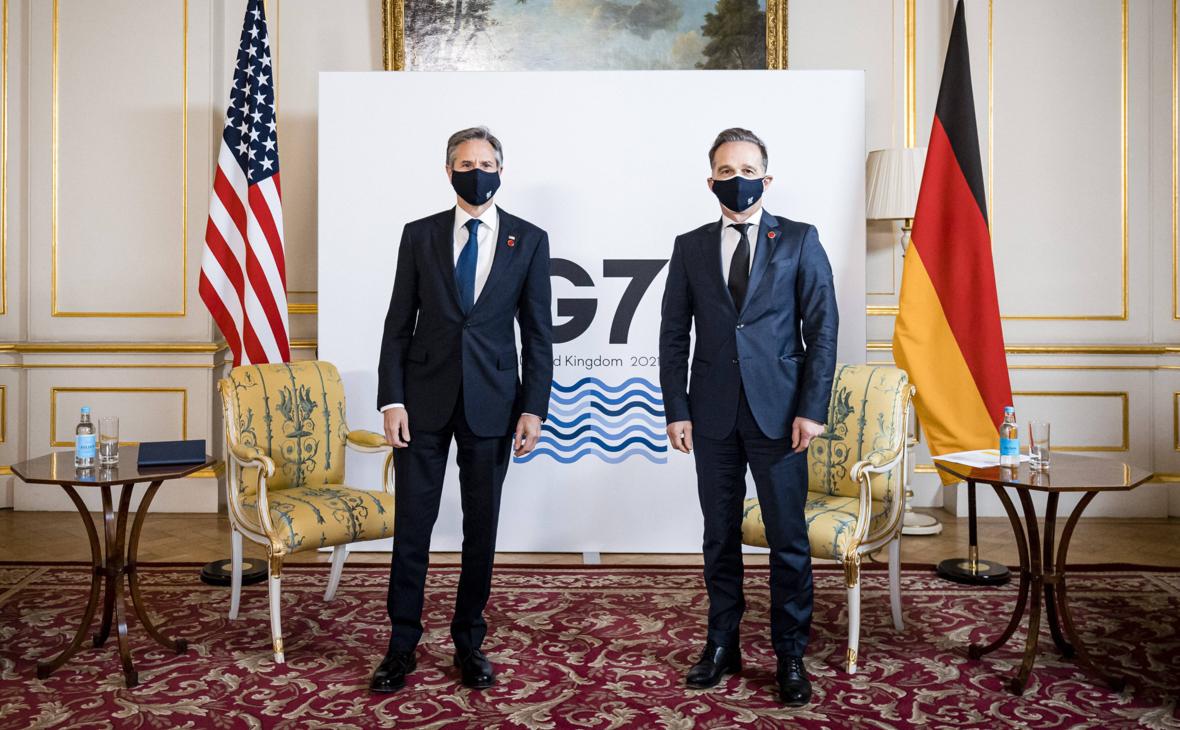 США напомнили главе МИД Германии о своей позиции по «Северному потоку-2» ::  Политика :: РБК