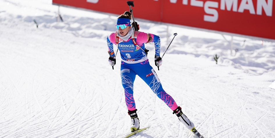 Биатлонистка сборной России Светлана Миронова