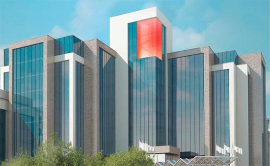 Проект LIGHT CUBE для здания центрального офиса ЛУКОЙЛа в Москве