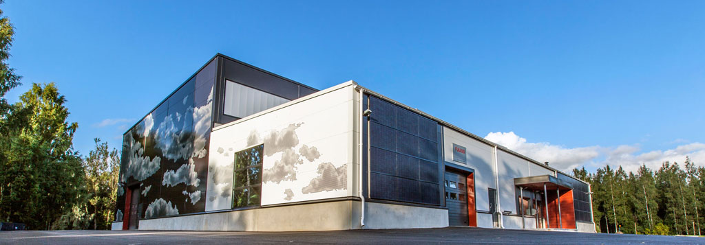 Технологический центр расположен вгороде Хямеенлинна натерритории Университета прикладных наук