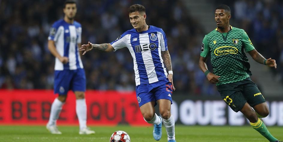 Матч чемпионата Португалии по футболу между «Порту» и «Фамаликаном»