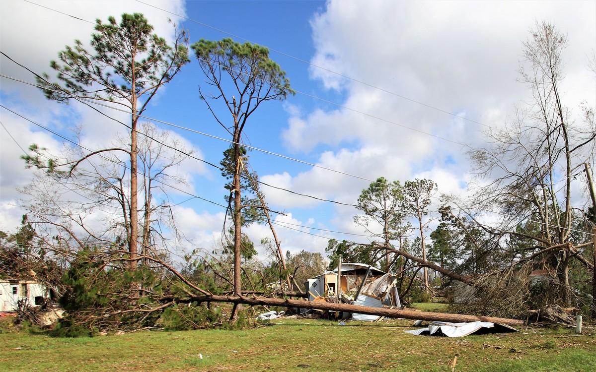 Последствия урагана «Майкл» в США
