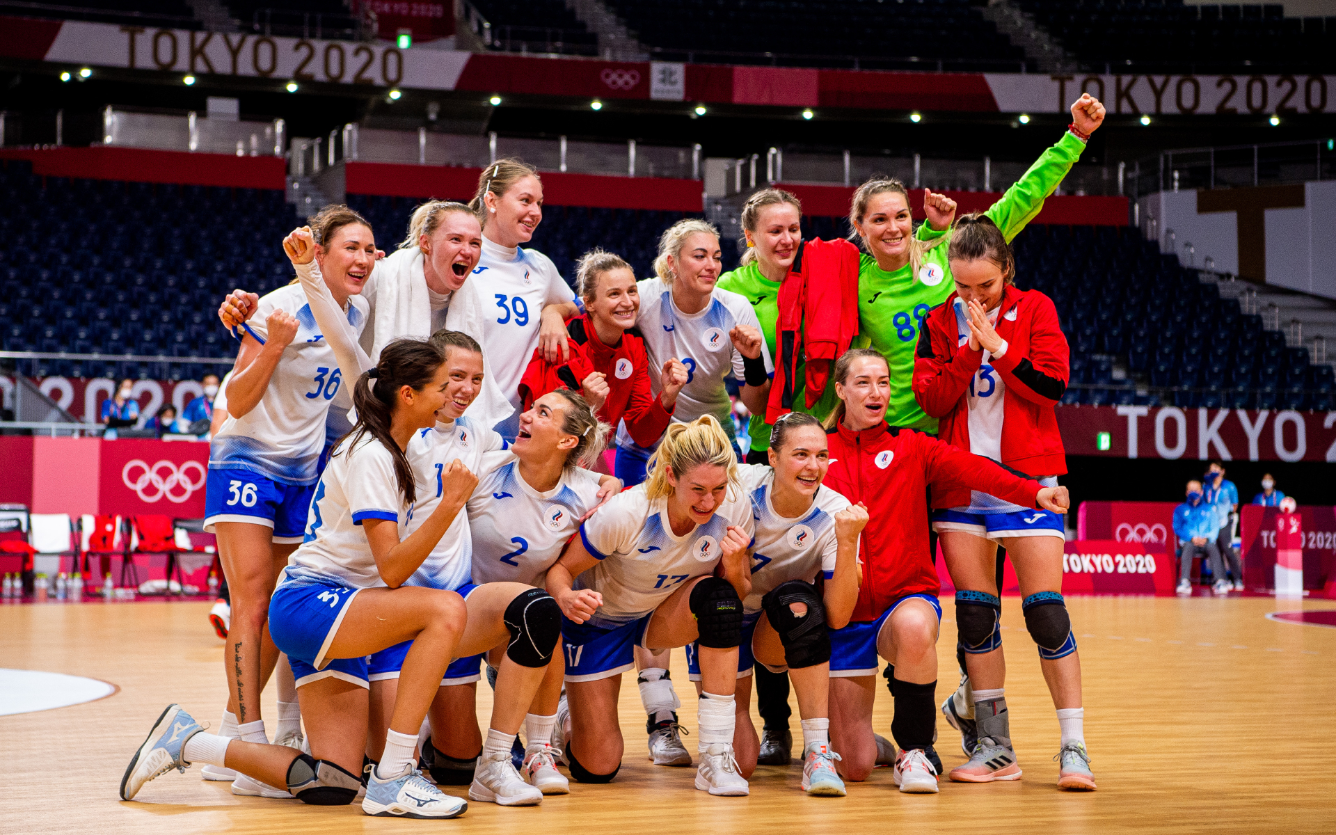 Женская сборная России по гандболу (Vegard Wivestad GrØTt\Zuma\TASS)