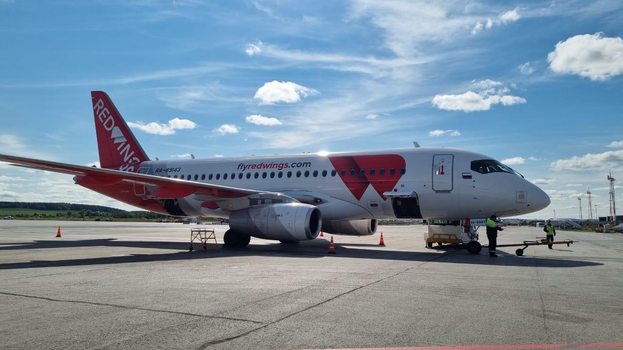 Red Wings опубликовала расписание субсидированных рейсов из Перми